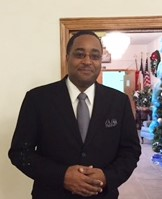 Mr. Courtney Teat of Teat Chapel. Licensed Funeral Director & Embalmer.